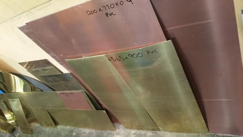 off cuts copper brass